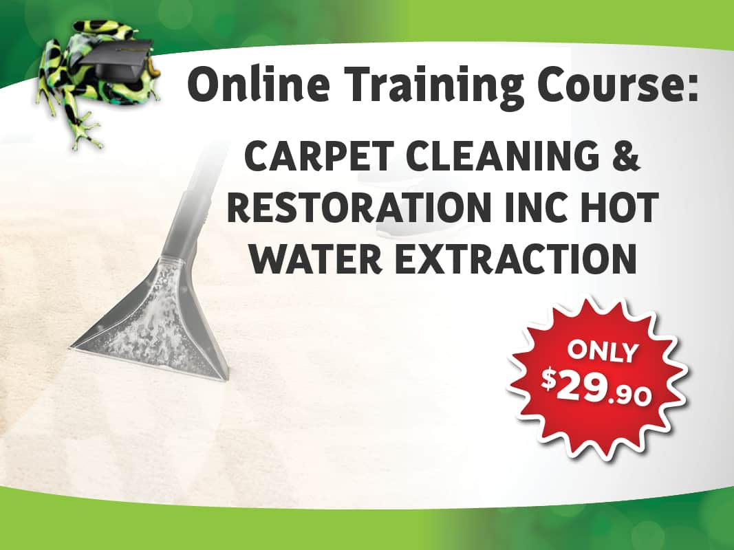Carpet Cleaning and Restoration Course