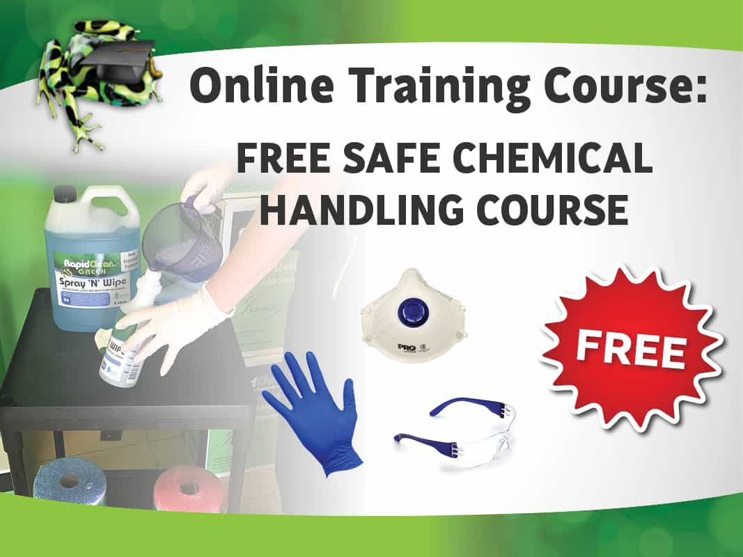 FREE Safe Chemical Handling Course