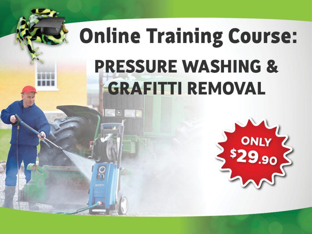 Pressure Washing & Graffiti Removal Course