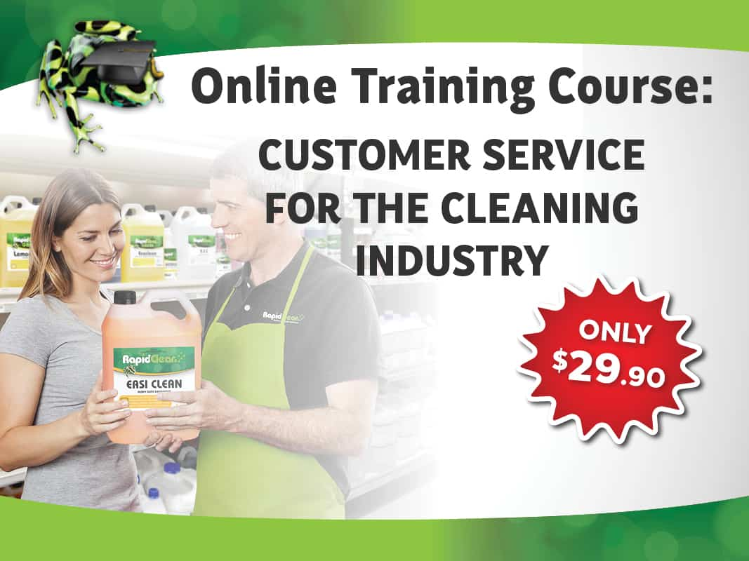 Customer Service For The Cleaning Industry Course