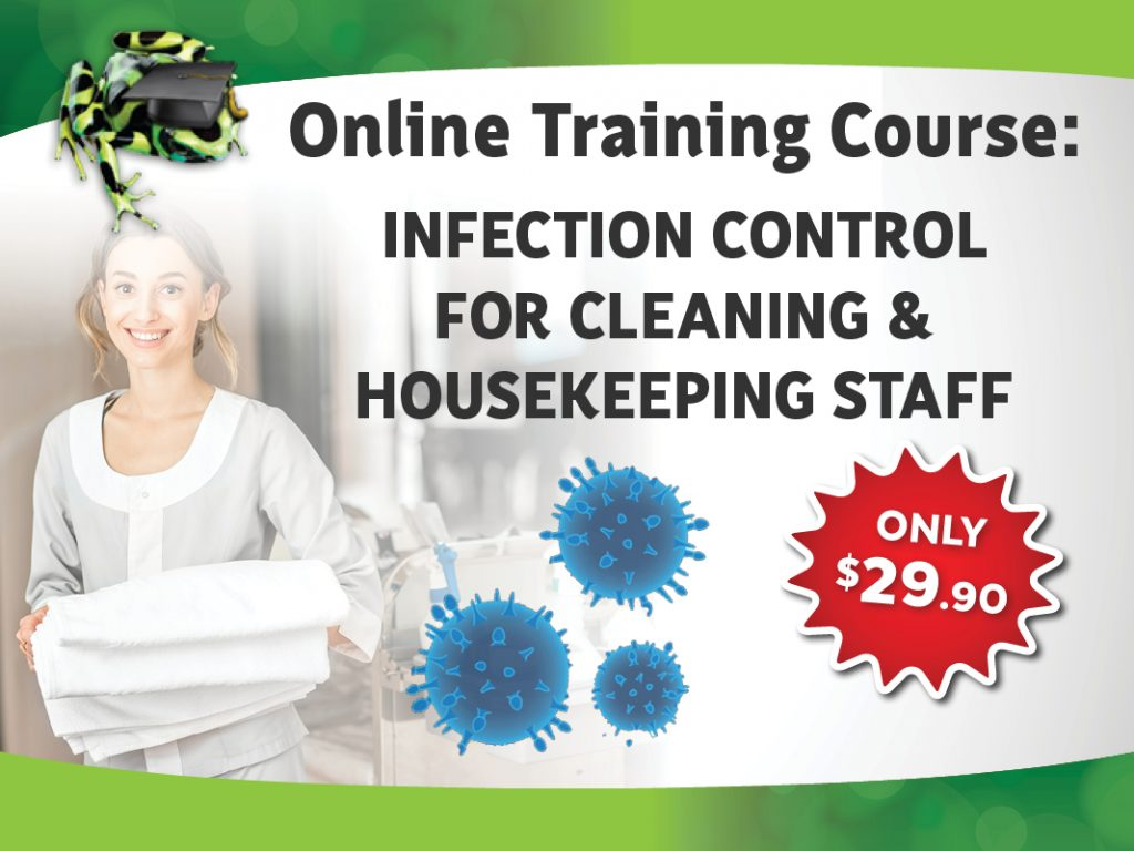 Infection Control For Cleaning & Housekeeping Staff Course