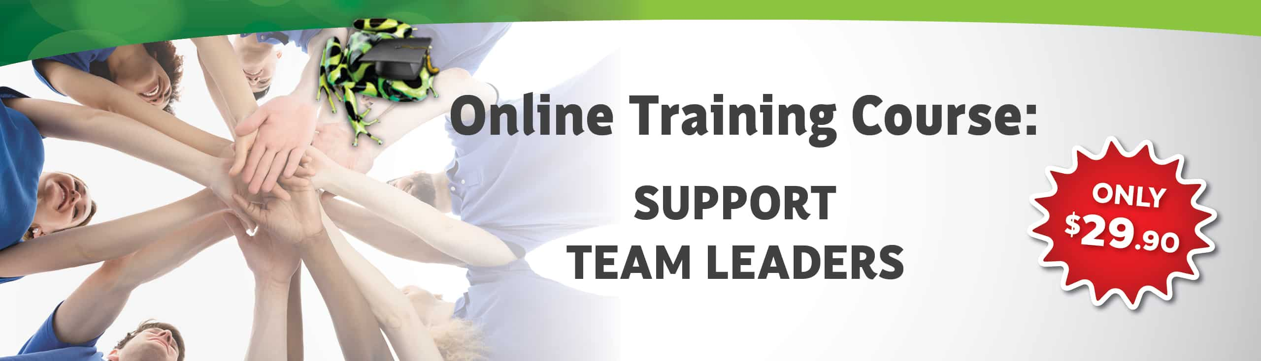 Support Team Leaders Course