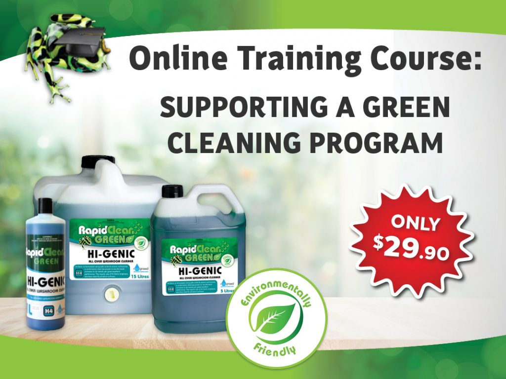 Supporting A Green Cleaning Program Course