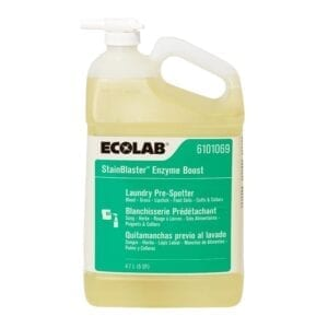 Ecolab Stainblaster Enzyme Boost 5 QT