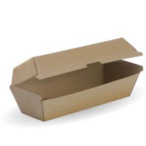 BioPak BioBoard Hot Dog Box