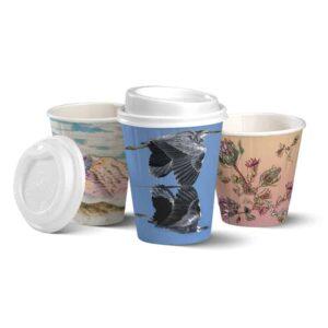 BioPak Art Series Double Wall Hot Cups