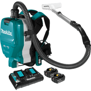 Makita LXT® Brushless 15L Upright Vacuum Cleaner HEPA DVC560PG2