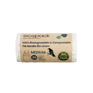 EcoPack 27L Medium Compostable Bin Liner