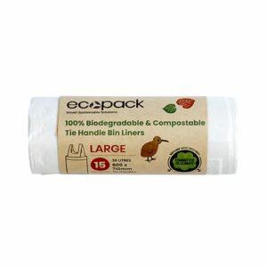 EcoPack 36L Large Compostable Bin Liner