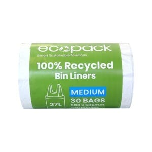 EcoPack 27L 100% Recycled Bin Liner