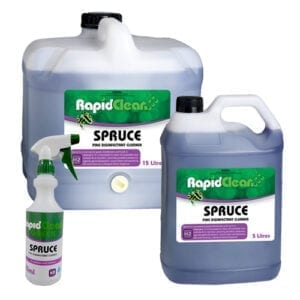 RapidClean Spruce Pine Disinfectant Cleaner