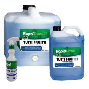 RapidClean Tutti Fruitti Disinfectant Cleaner