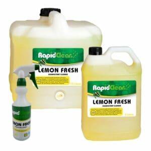 RapidClean Lemon Fresh Disinfectant Cleaner